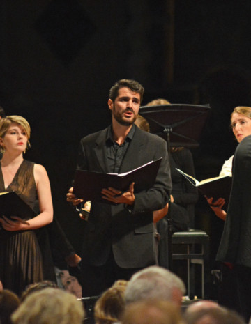 Orpheus Chant at Ambronay and Sézanne Festivals