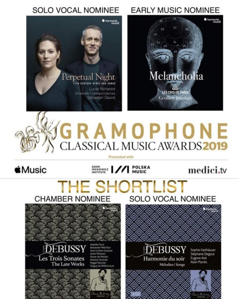 Perpetual Night nominated for the 2019 Gramophone Awards!