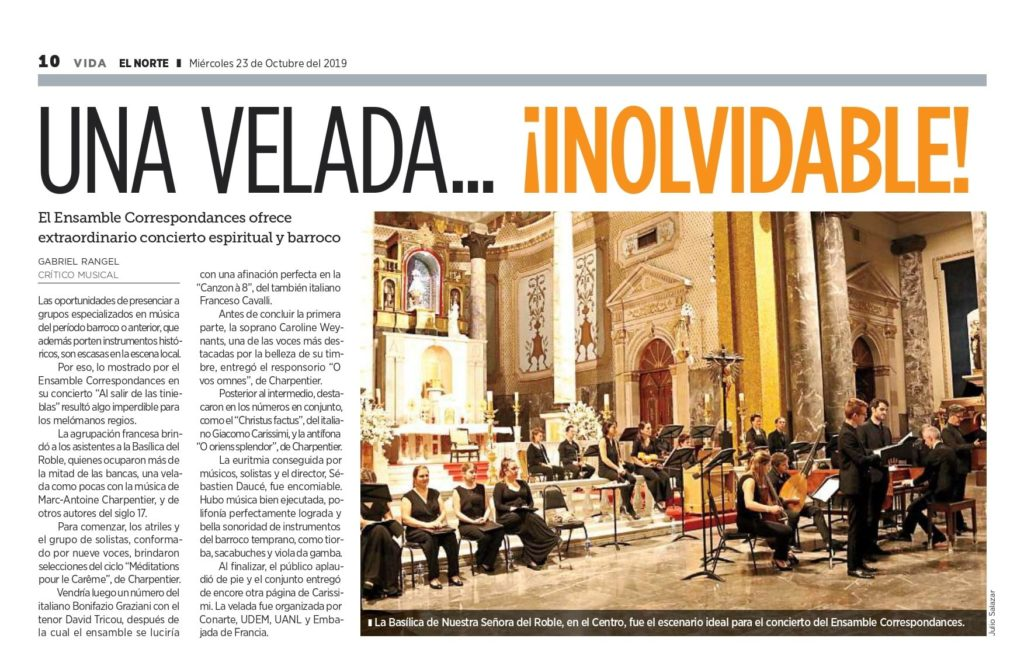 El norte article