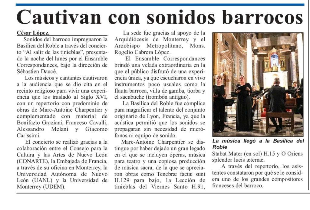 El Porvenir article