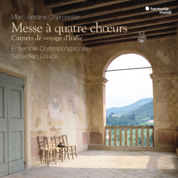 Publication of the recording « Messe à quatre chœurs · Carnets de voyage d'Italie »